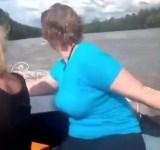 Você está lá andando de barco e tals e de repente…