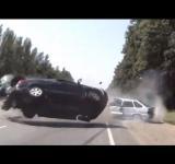 Copilação de acidentes de carros