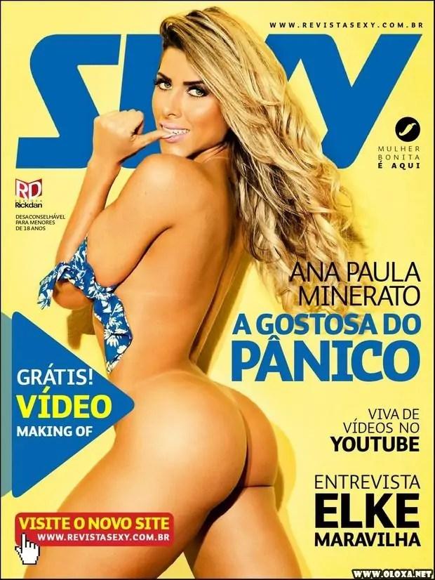 Sexy de julho - Ana Paula Minerato - A gostosa do Pânico