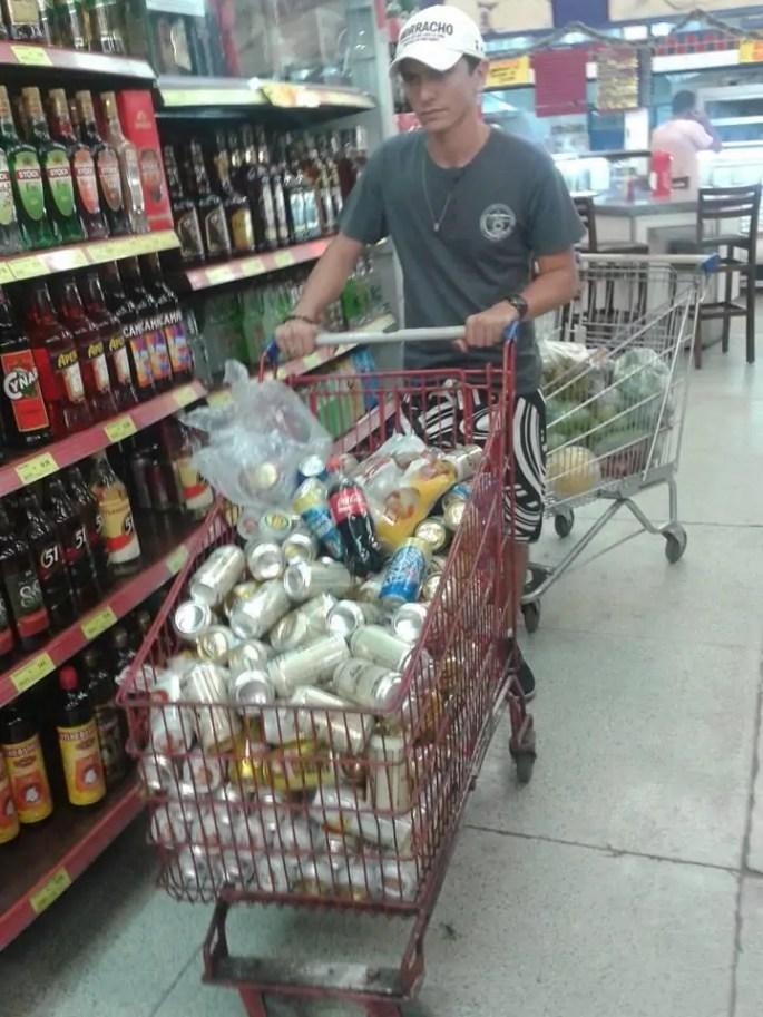 andrio comprando cerveja - amor não esqueci sua coca