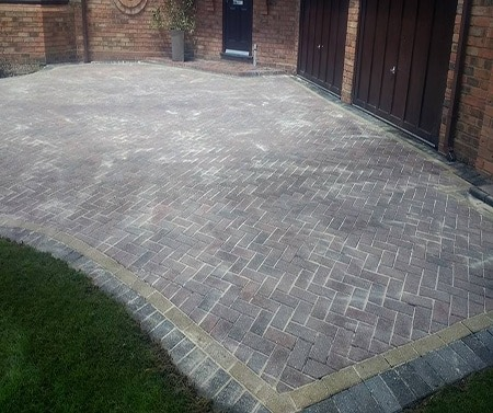 Block Paving Driveway Cleaning Solihull