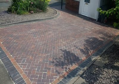 Driveway-Block-Paving-Cleaning Solihull