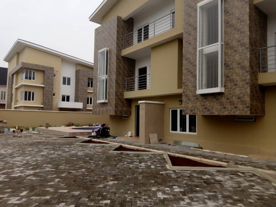 Newly Built 6 Units Of 4 Bedroom Terrace With A Room Boys