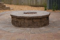 Fire Pit and Outdoor Fire Place - Omaha Landscape Design