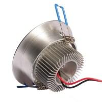 3 Watt Dimmable CREE Recessed LED Lighting Fixture ...