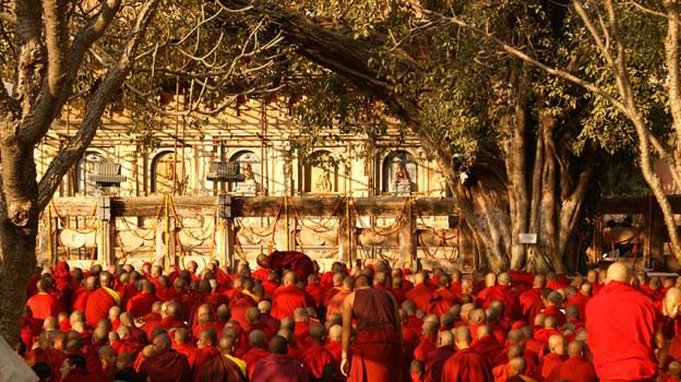 Mahabodhi temple Kalachakra 2016