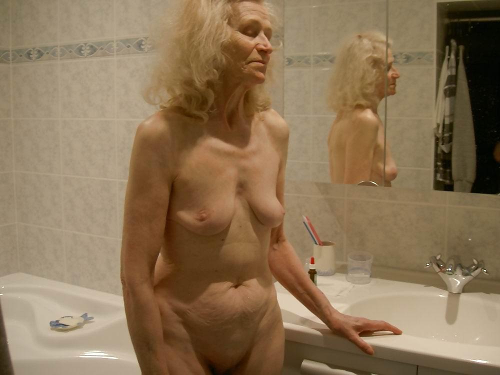 slim old nude grannies