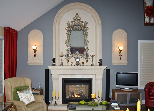 Decorating Your Fireplace Mantel Omegamantelscom