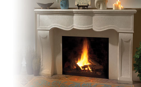 Artisan Cast Stone Fireplace Mantels For Your Home Omega