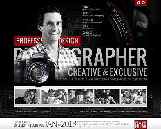 OT Photographer - Stylist Joomla 3x! Template - OmegaTheme