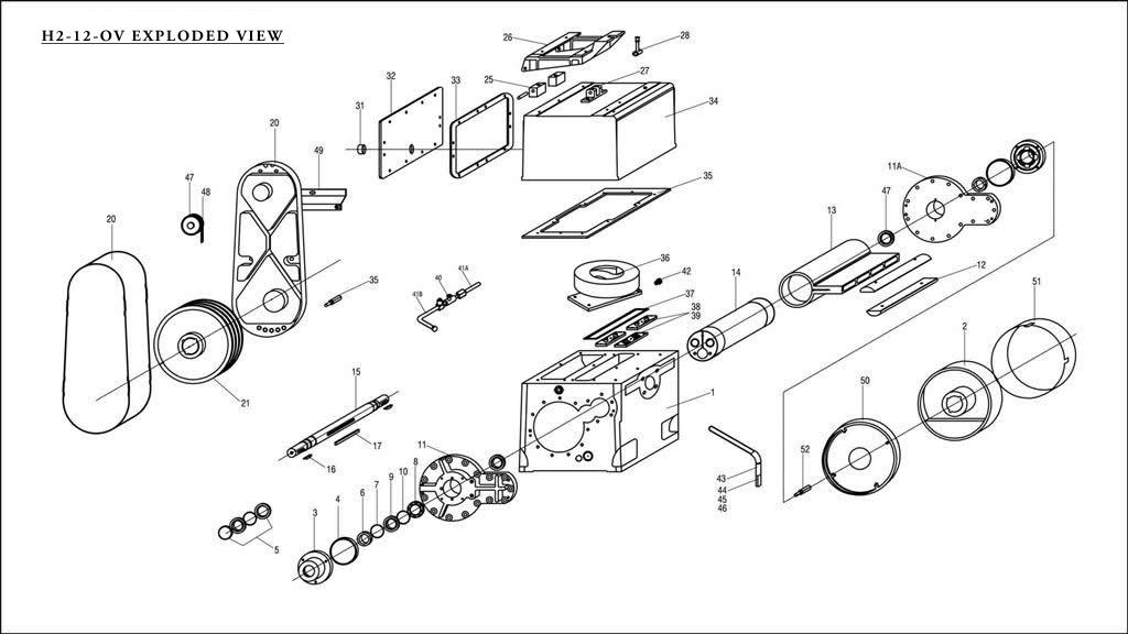 vacuum pump diagram vacuum pump model