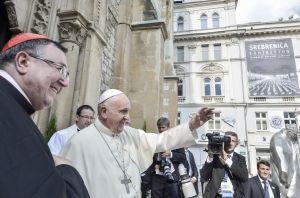 Bosnia Pope visit