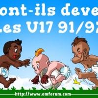 U17 CHAMPIONS DE FRANCE | Dossier complet pour les générations 91 et 92