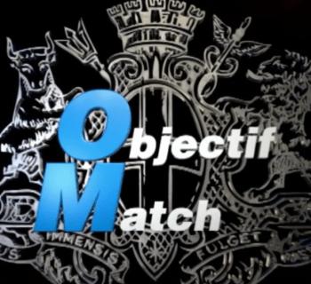 Capture d'écran du générique de la saison 4 d'Objectif Match. (Vidéo OM.net 2016)