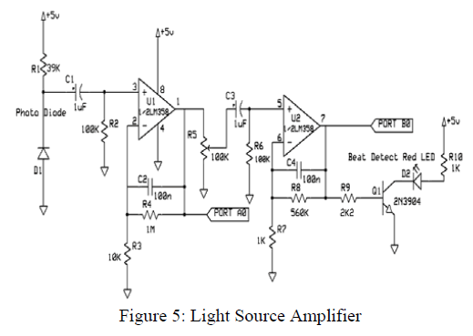 circuit of typical noninverting amplifier