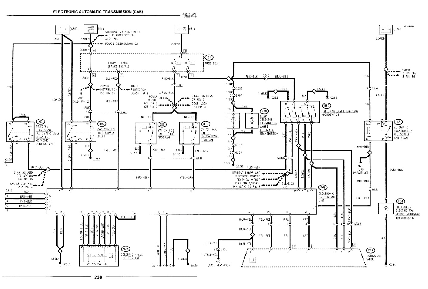 zf ecu wiring diagram