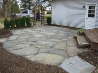 Stone Patios can be a great addition to your backyard