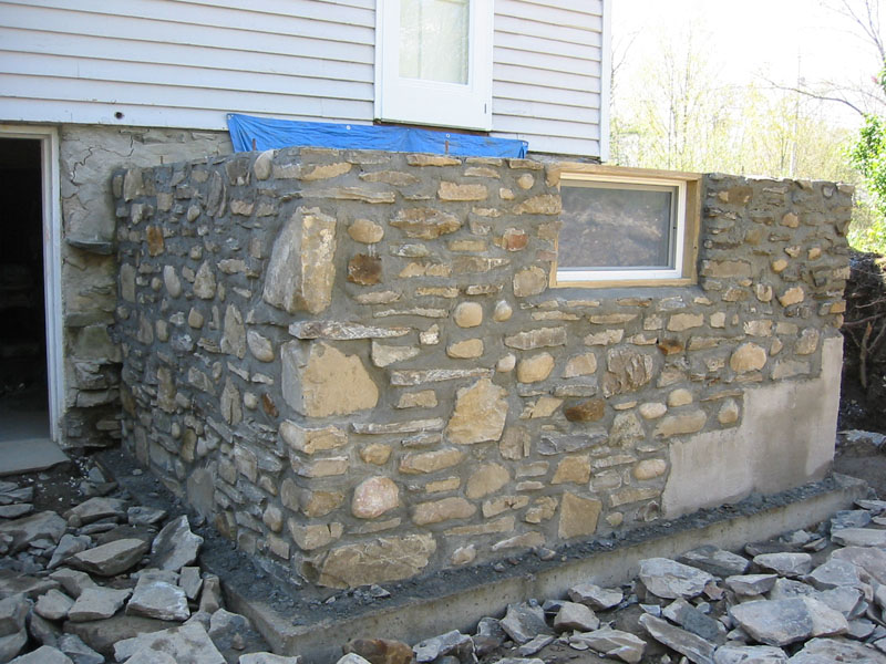 Stone Masonry that will last many years to come
