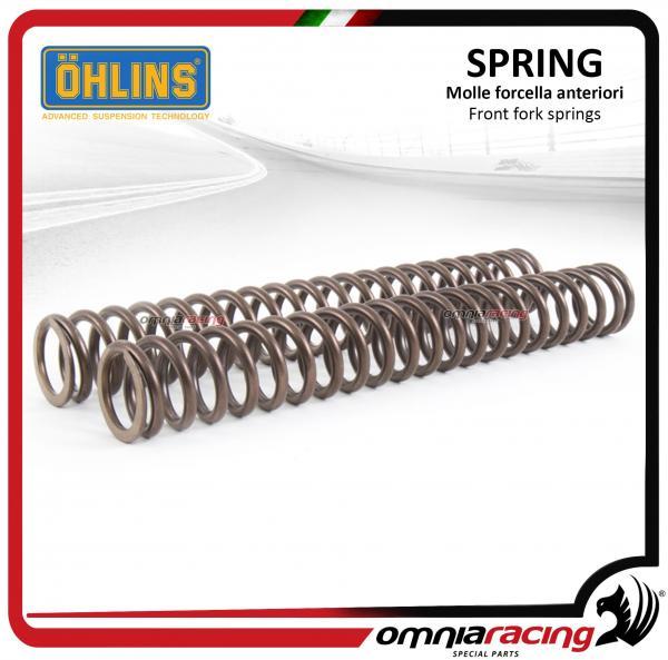 Front Fork Spring Ohlins Set for Suzuki Gsxr1100 1991-1992 - 8606-90