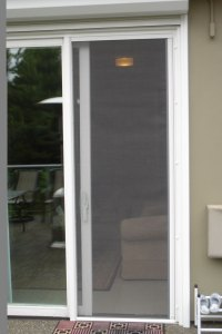 Sliding Screen Door: Sliding Screen Door With Pet Door