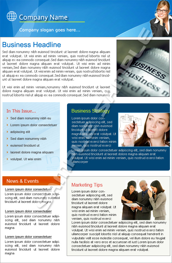 email marketing software newsletter templates - word templates for newsletter