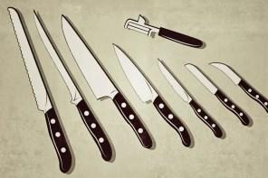 Die wichtigsten Messer in der Küche