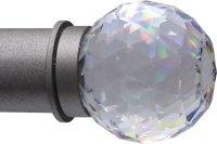 Crystal Finials  Ona Drapery Hardware