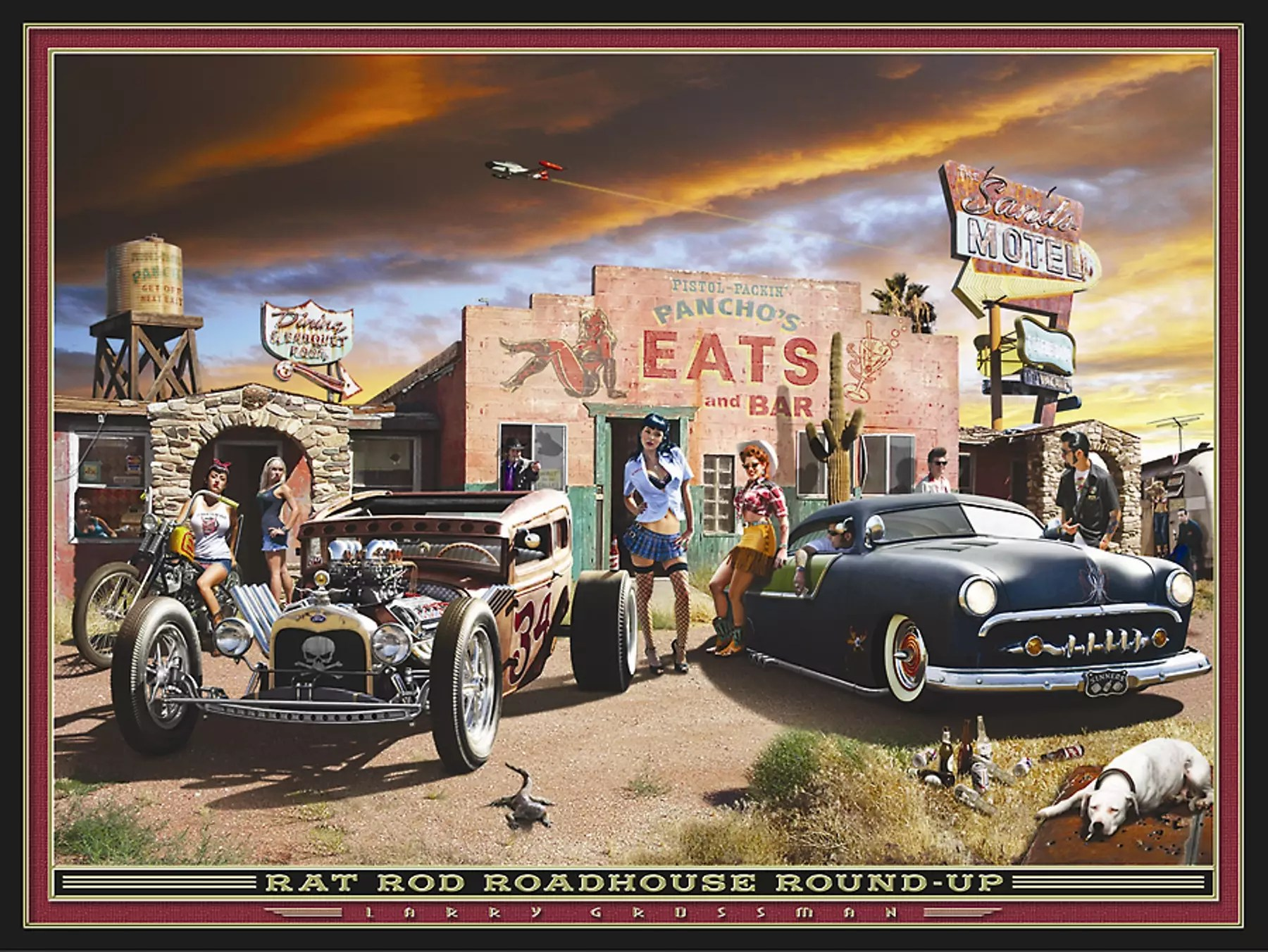 Classic Car Wallpaper Murals American Rewind Which Hot Rod Related Places Would You