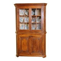 Corner cabinet : On Antique Row - West Palm Beach - Florida