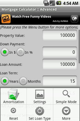 Mortgage Calculator Android Finance best android apps free download