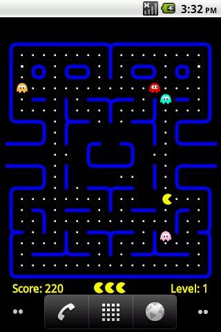 PacMan Live Wallpaper Android Themes best android apps free download