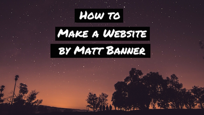 How to Make a Website - Free Step-by-Step Beginners Guide