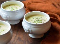Prissy Leeks Potato Leek Soup Once Upon A Chef Irish Potato Soup Calories Irish Potato Soup