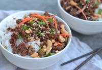 30-Minute Asian Beef Bowls - Once Upon a Chef