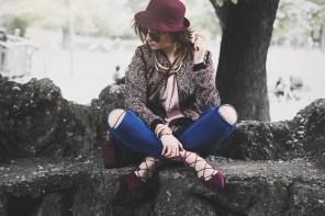 S/S trend: Lace up shoes! | Purple overflow
