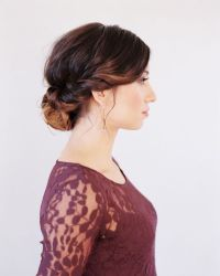 Wedding Hairstyles for Medium Hair Tutorial - Once Wed