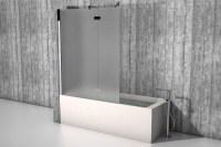Badewannenaufsatz - die Duschwand fr die Badewanne