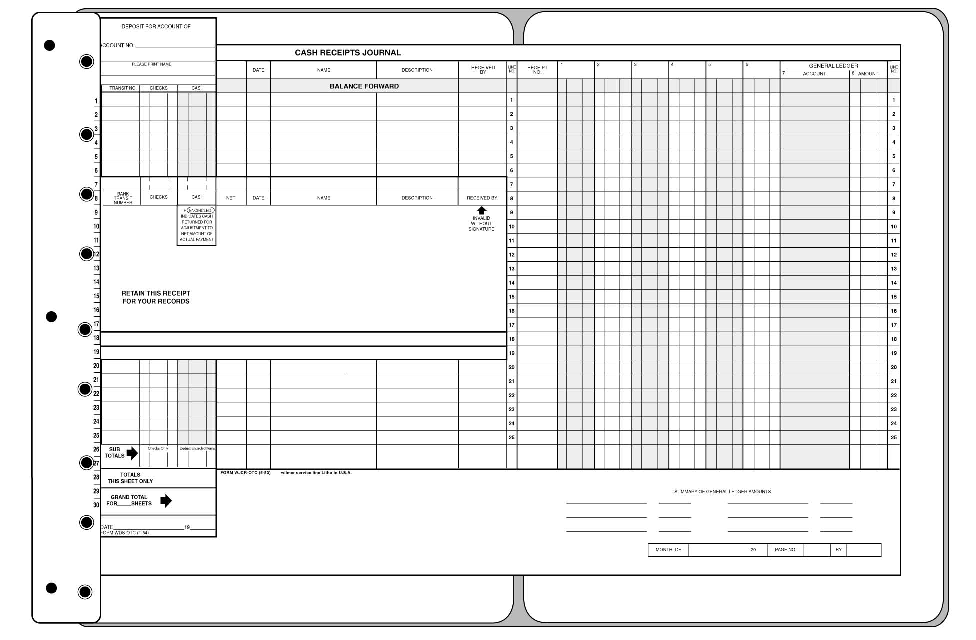 Accounting Daybook Template | Example Resume Html Format