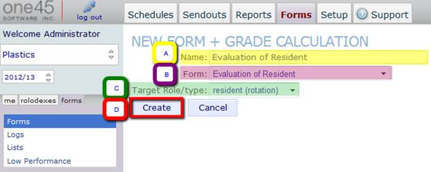 How do I create a new form grade calculation? ProfitSword Customer Hub