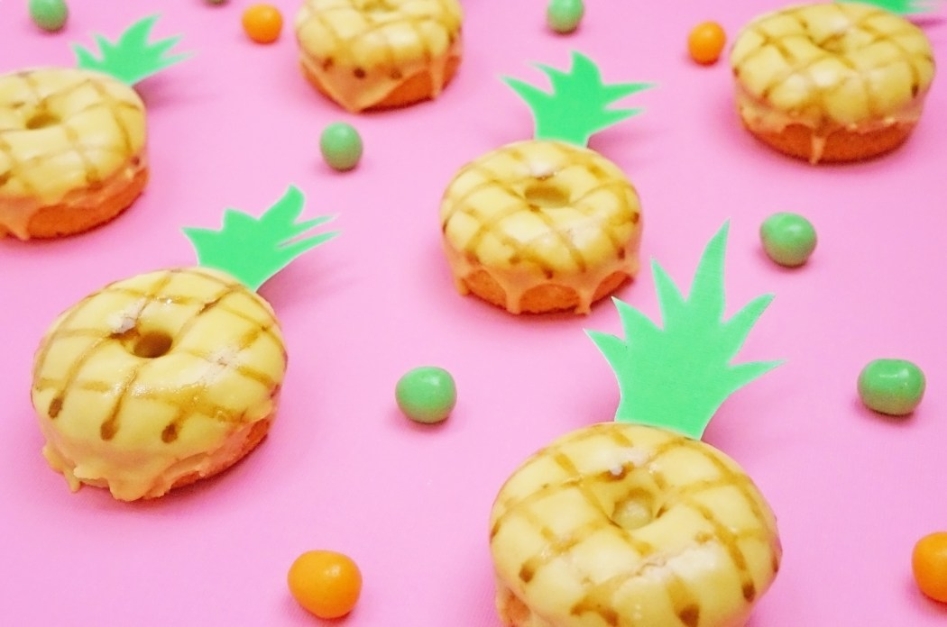 DIY EATS | Mini Pineapple Donuts