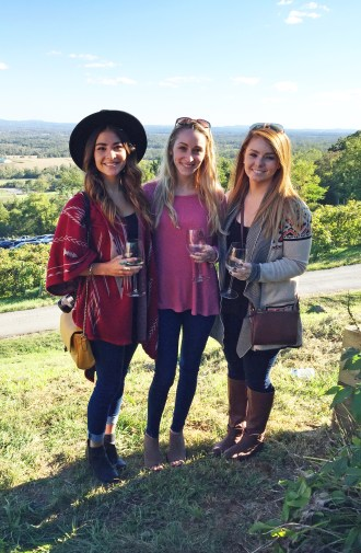 Bluemont Vineyard in Fall