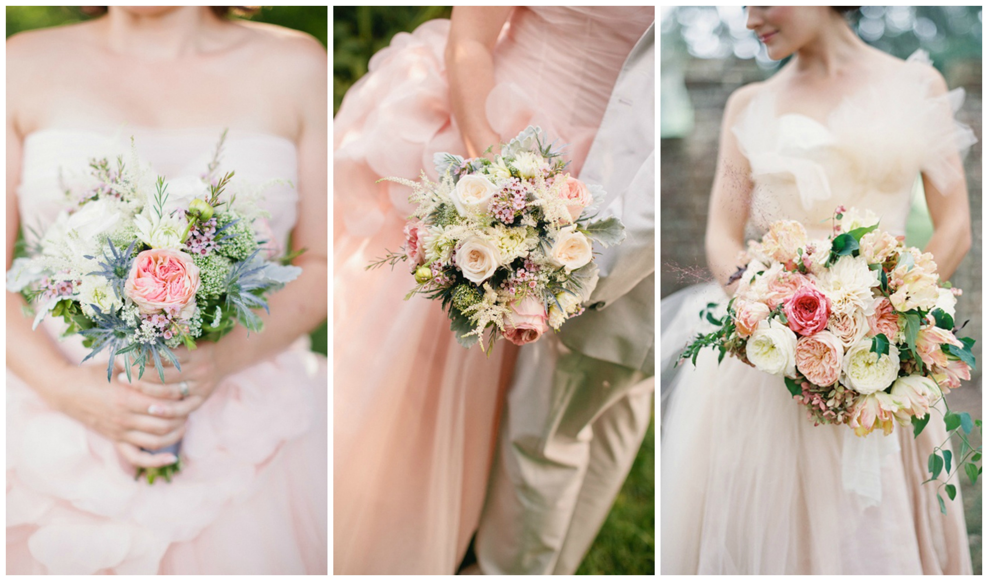 Blush Pink and Gold Wedding Inspiration e Charming Day