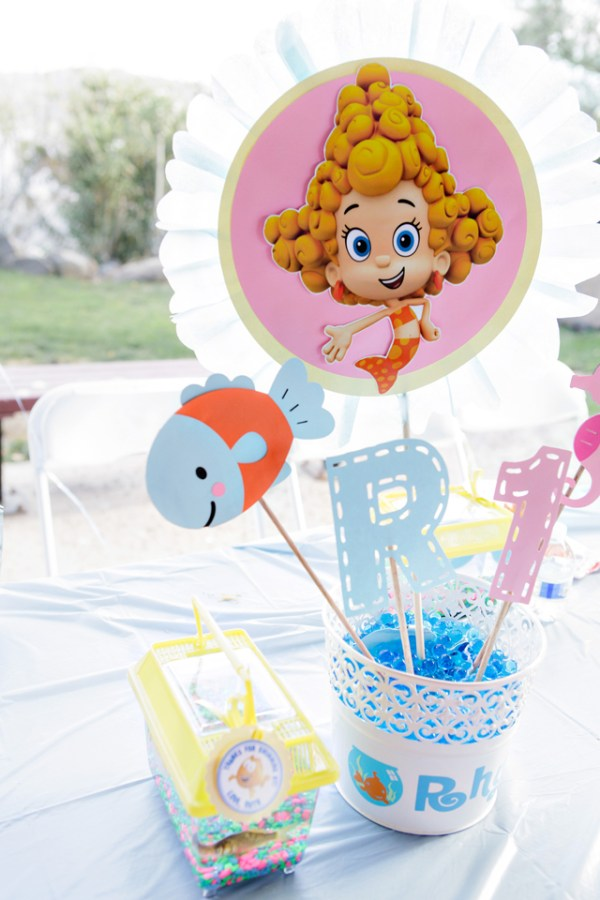 Under The Sea Bubble Guppies Birthday Party - One Charming Day