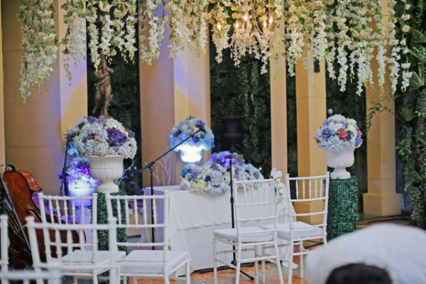 Wedding at Lemuria Restaurant