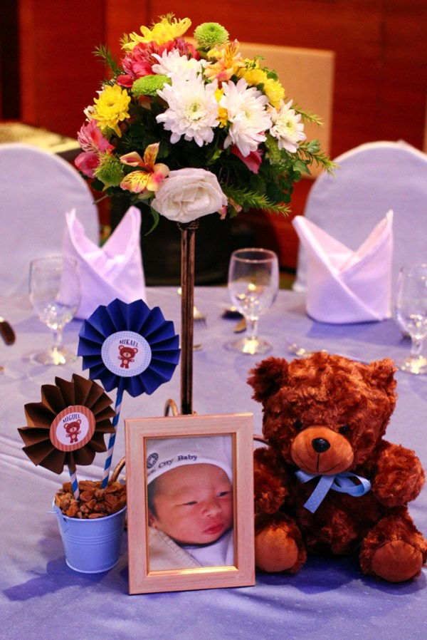 Blue and Brown Teddy Bear Themed Party - 05