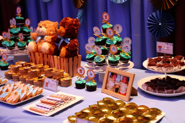 Blue and Brown Teddy Bear Themed Party - 10