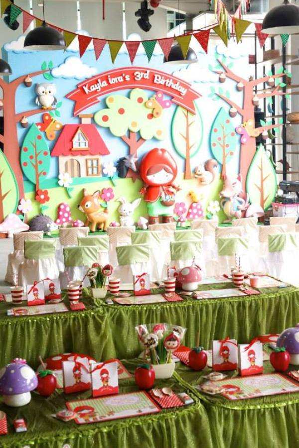 Little Red Riding Hood Party - 23