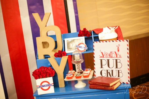 London Themed Party - 19