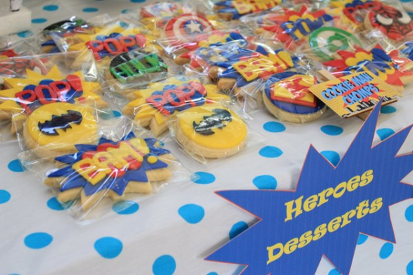 Superheroes Birthday Party - 10