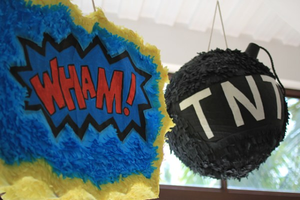 Superheroes Birthday Party - 11